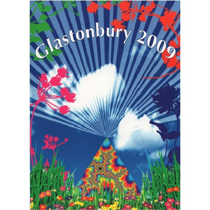 Image of Limited Edition Glastonbury Flowers 2009