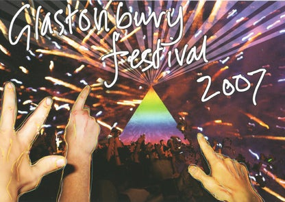 Image of Limited Edition Glastonbury Hands Up 2007