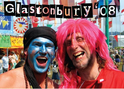 Image of Limited Edition Glastonbury Times 2008