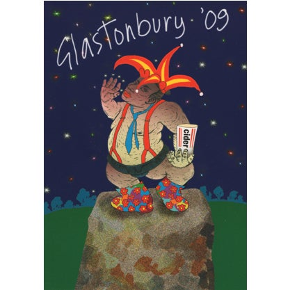 Image of Limited Edition Glastonbury Jester 2009