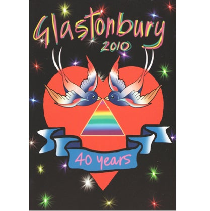 Image of Limited Edition Glastonbury I Love 2010