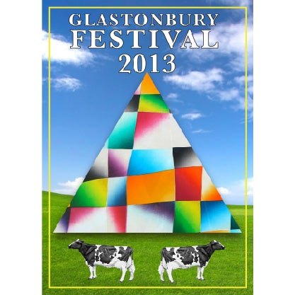 Image of Limited Edition Glastonbury Cows Life 2014