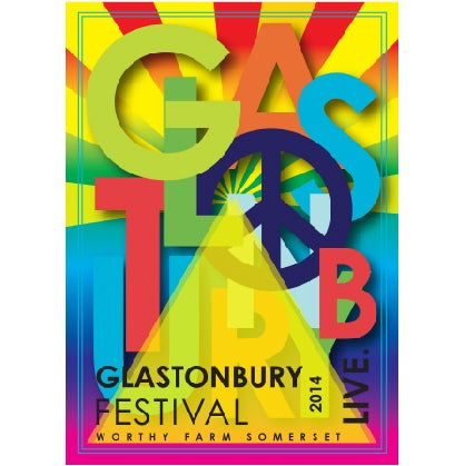 Image of Limited Edition Glastonbury Peace 2014