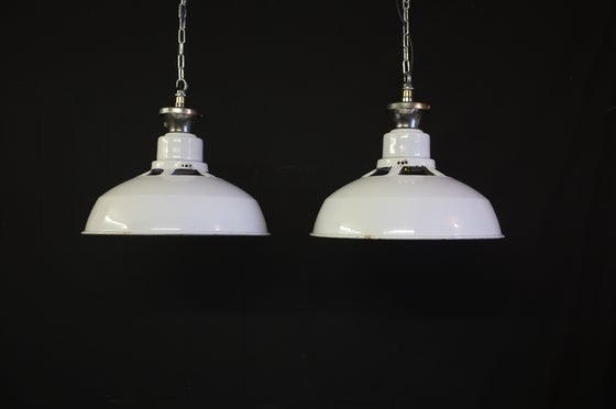 Image of Stunning XL Benjamin Vented Factory Light
