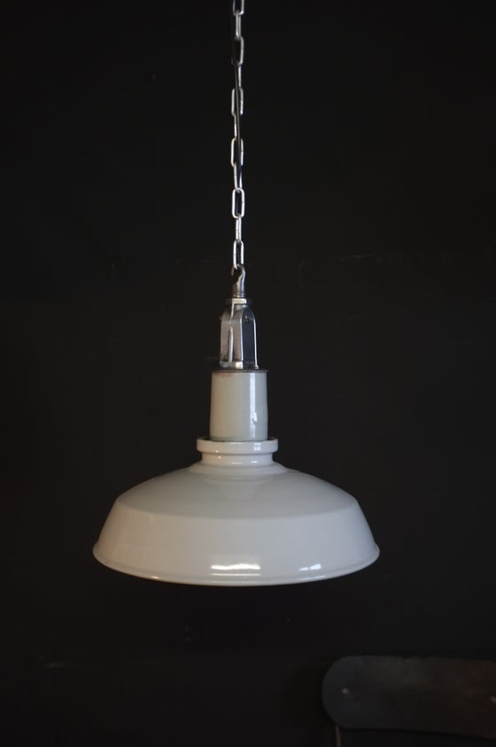 Image of Vintage Thorlux Industrial Factory Light.