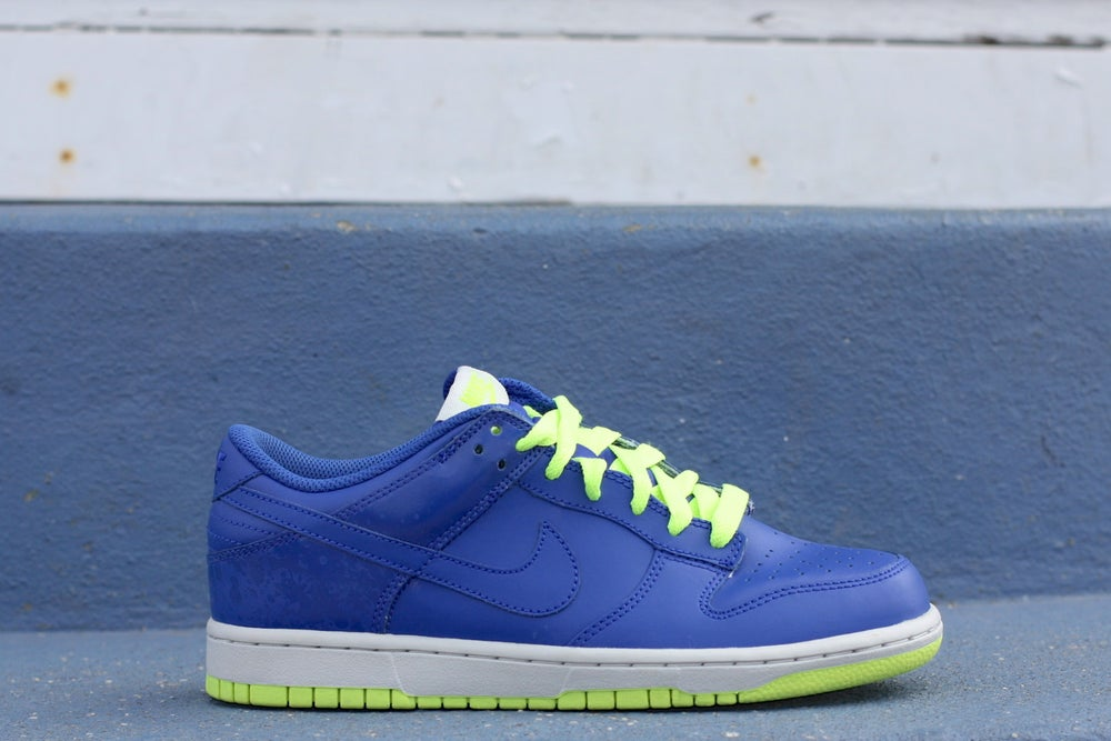 "Image of NIKE DUNK LOW CL ""SPRITE"" 318020-441"