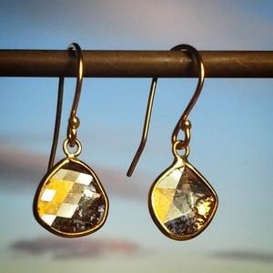 Image of Diamond Slice Earrings