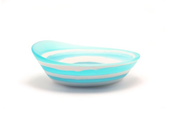 Image of Layered Turquoise Plunge Bowl