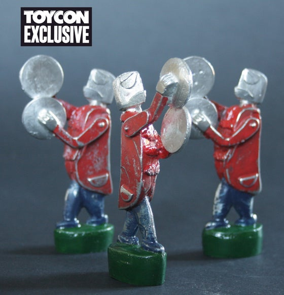 Image of Admirable Crichton Marching Band vintage pewter toys