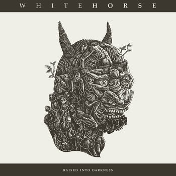 "Image of WHITEHORSE ""raised into darkness LP"