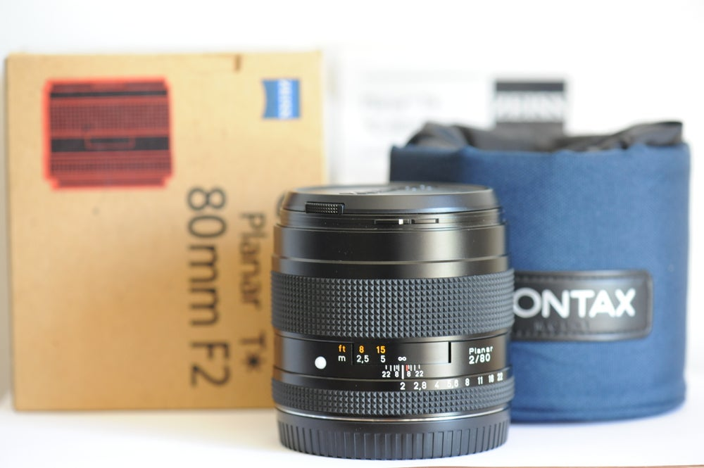 Image of Contax 645 Zeiss T* 80mm f/2 lens | EX