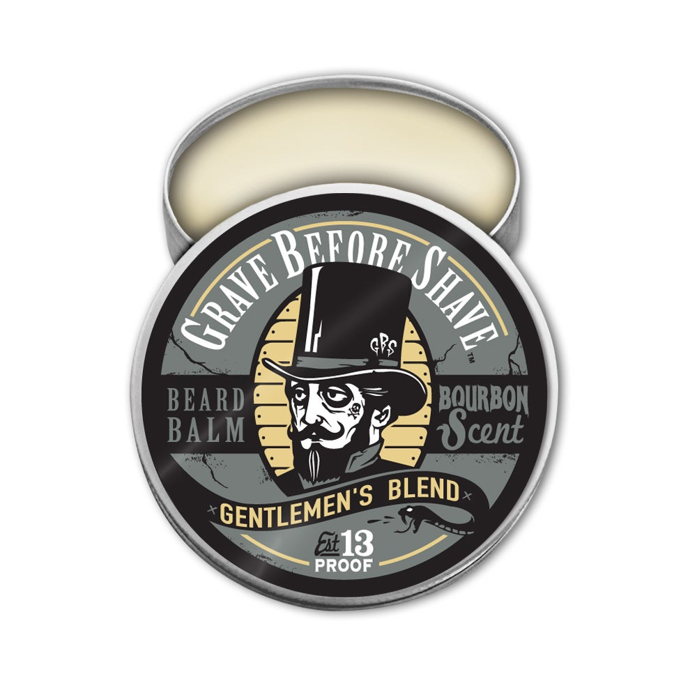 Image of GRAVE BEFORE SHAVE Gentlemen's Blend Beard Balm