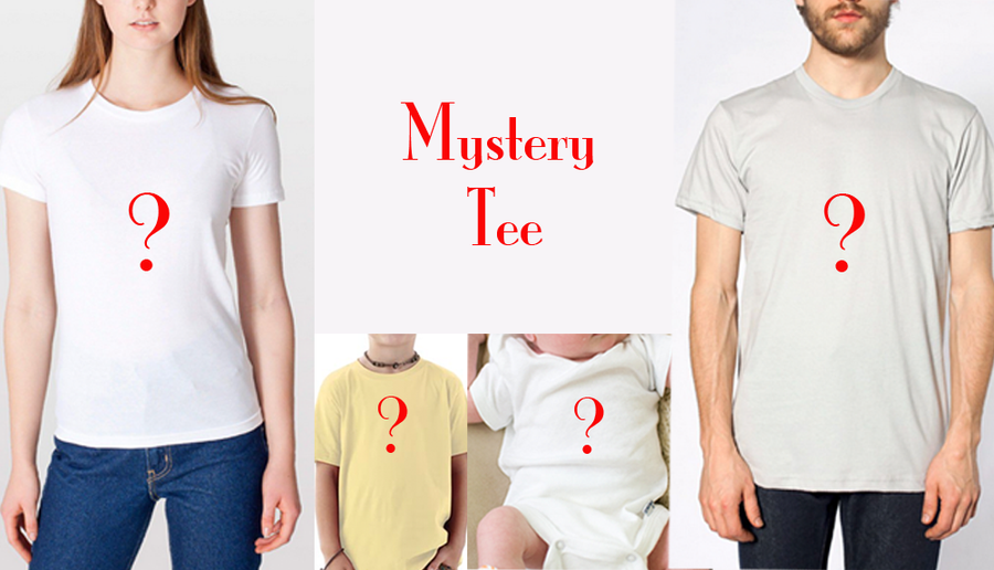 Image of Free Shipping Mystery Tee/Toddler Tee/Baby Onesie