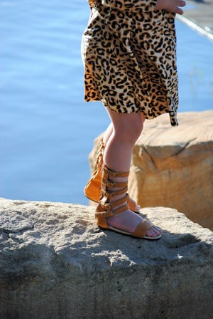 Image of Nahla sandal Tan