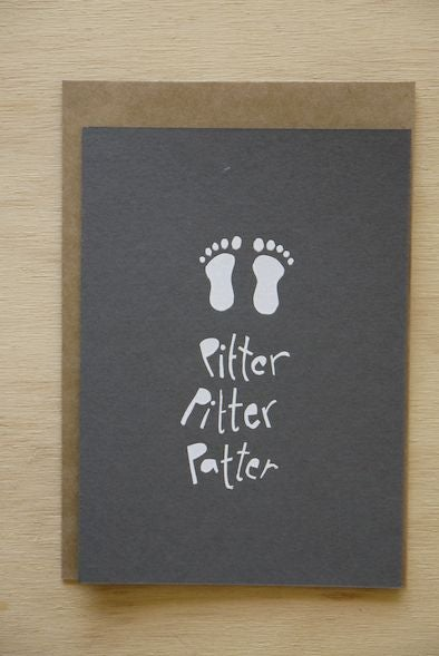 Image of Pitter Pitter Patter card