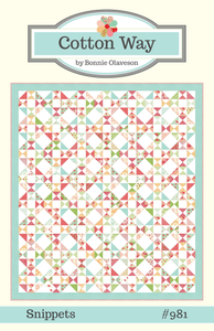 Image of Snippets Paper Pattern #981