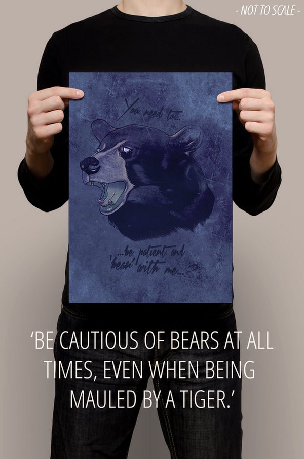 """Image of """"BEAR WITH ME"""""""