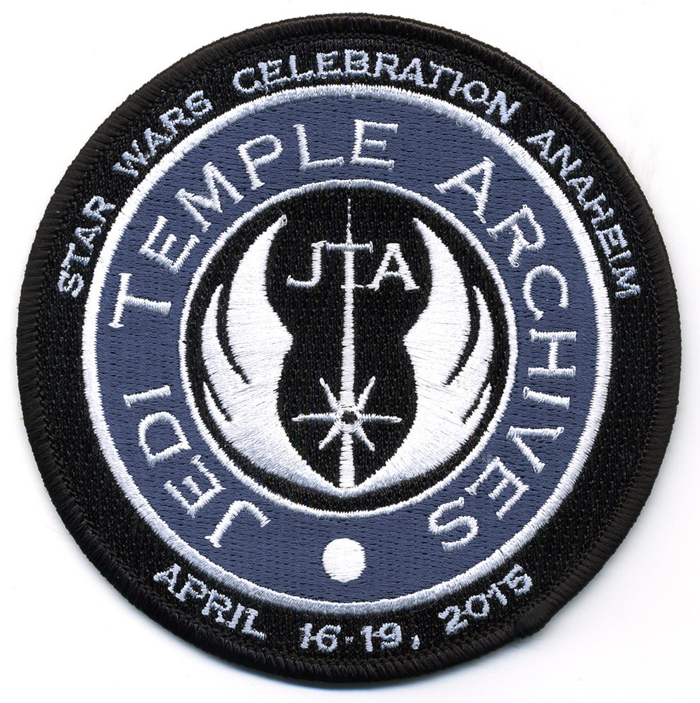 Image of Star Wars Celebration VII Anaheim Jedi Temple Archives Patch