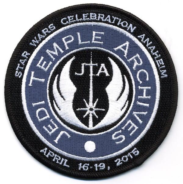 Image of Star Wars Celebration VII Anaheim Jedi Temple Archives Patch