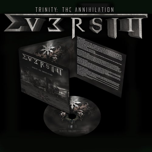 "Image of EVERSIN ""Trinity: The Annihilation"" digiCD"