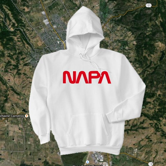 Image of NAPA WORM HOODED SWEATSHIRT PRE-ORDER!!