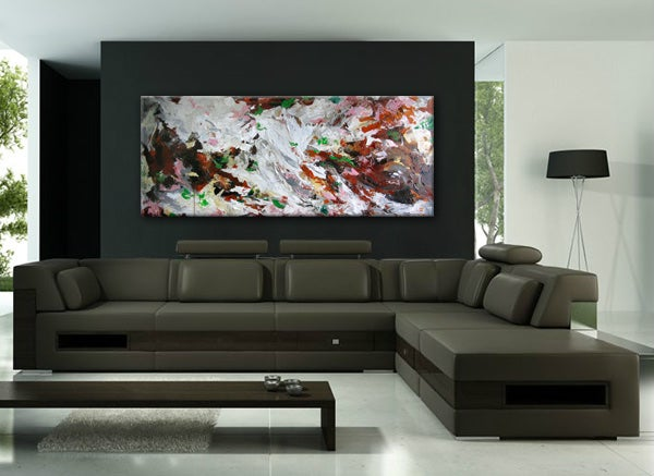 Image of Abstract no.53 - 60 x 152cm