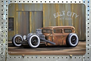 Image of Salt City Rat / Metal Print