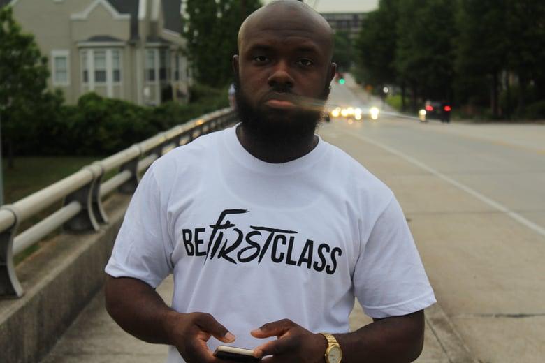 Image of BeFirstClass WHT&blk Tee