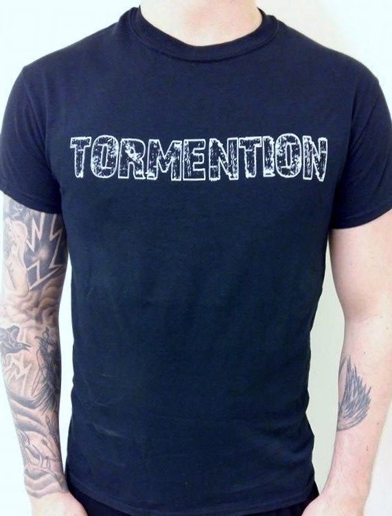 """Image of T-shirt """"Tormention logo"""""""