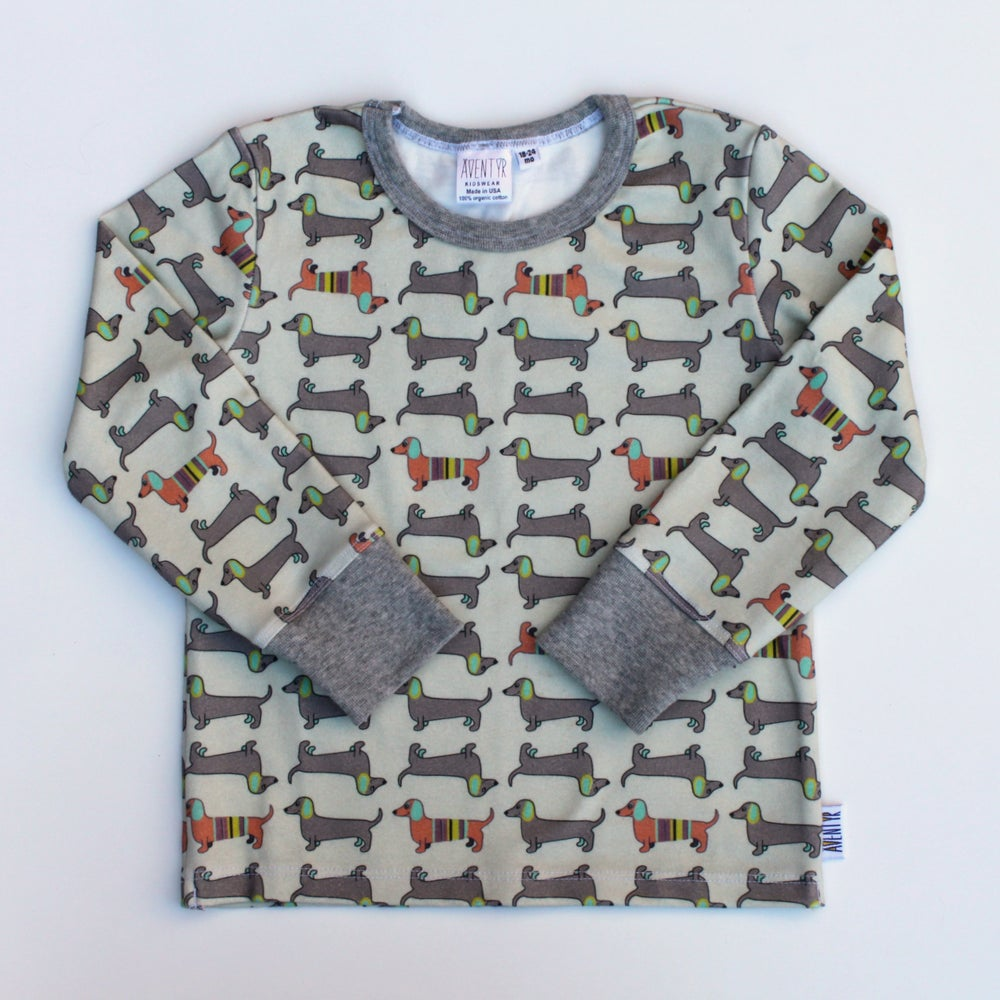 Image of Kids Shirt - Dachshund