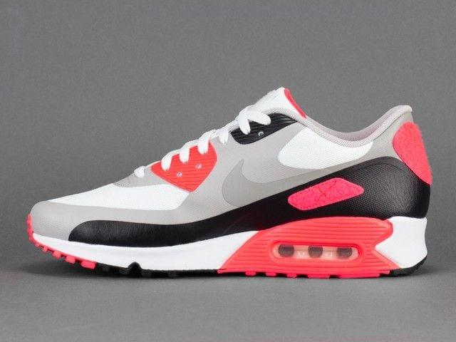 Mens Infrared Nike Air Max 90 anniversary patch sneakerholic*