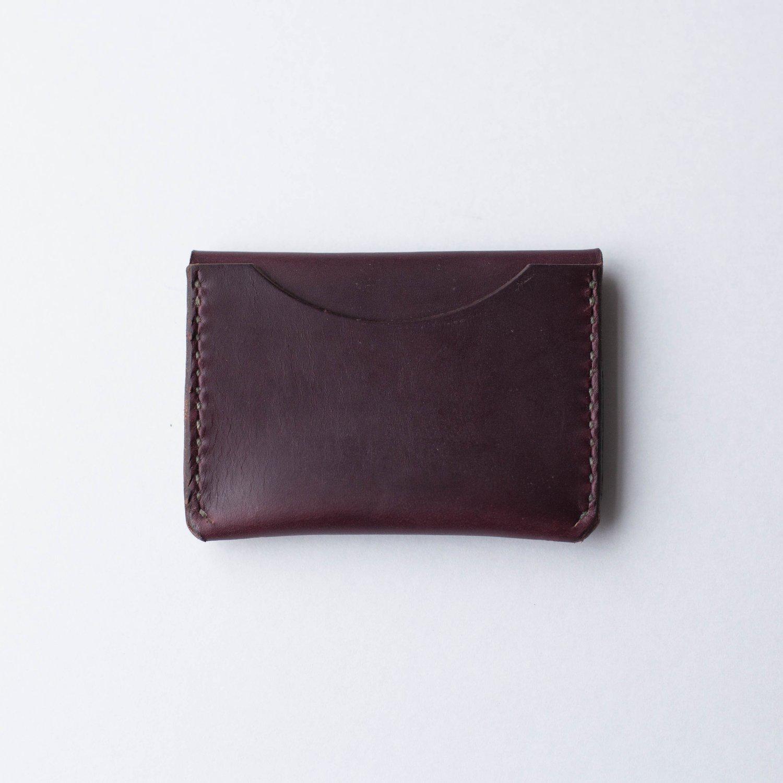 Image of Oxblood Flap Wallet