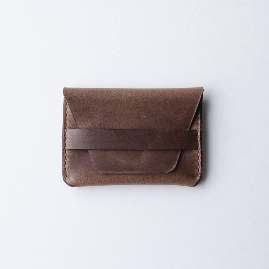 Image of Natural Flap Wallet