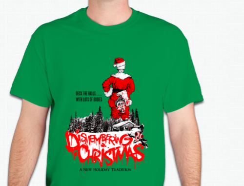 Image of Dismembering Christmas Limited Edition T-Shirt