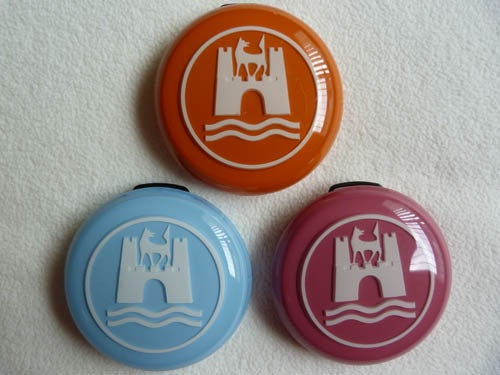 Image of CLOSE OUT! CUSTOM HORN BUTTONS - 2 color