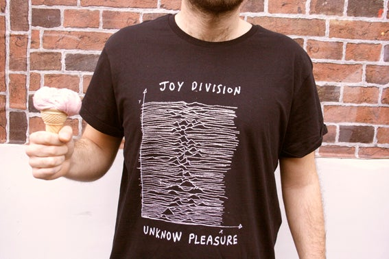 Image of joy division - Unknow pleasure, by Alfano