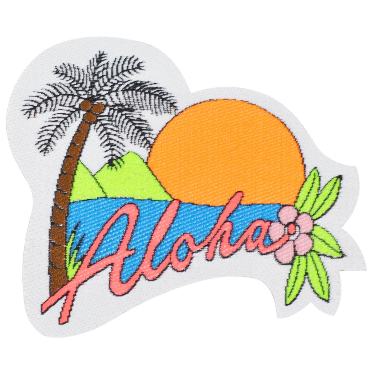 Iron on Aloha Patch