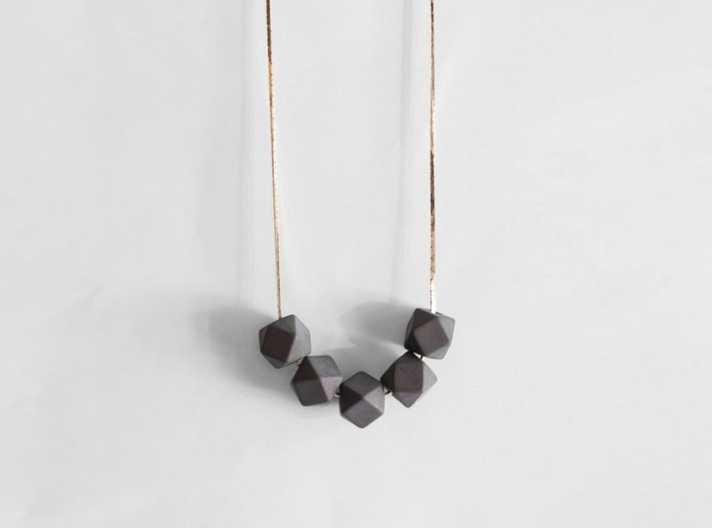 Image of Delta Necklace - Slate