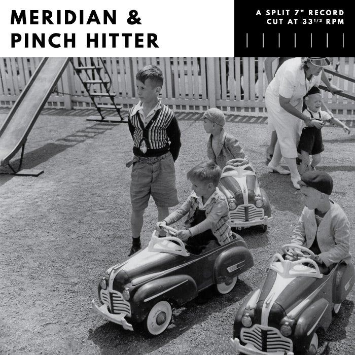 "Image of Split 7"" - Meridian & Pinch Hitter"