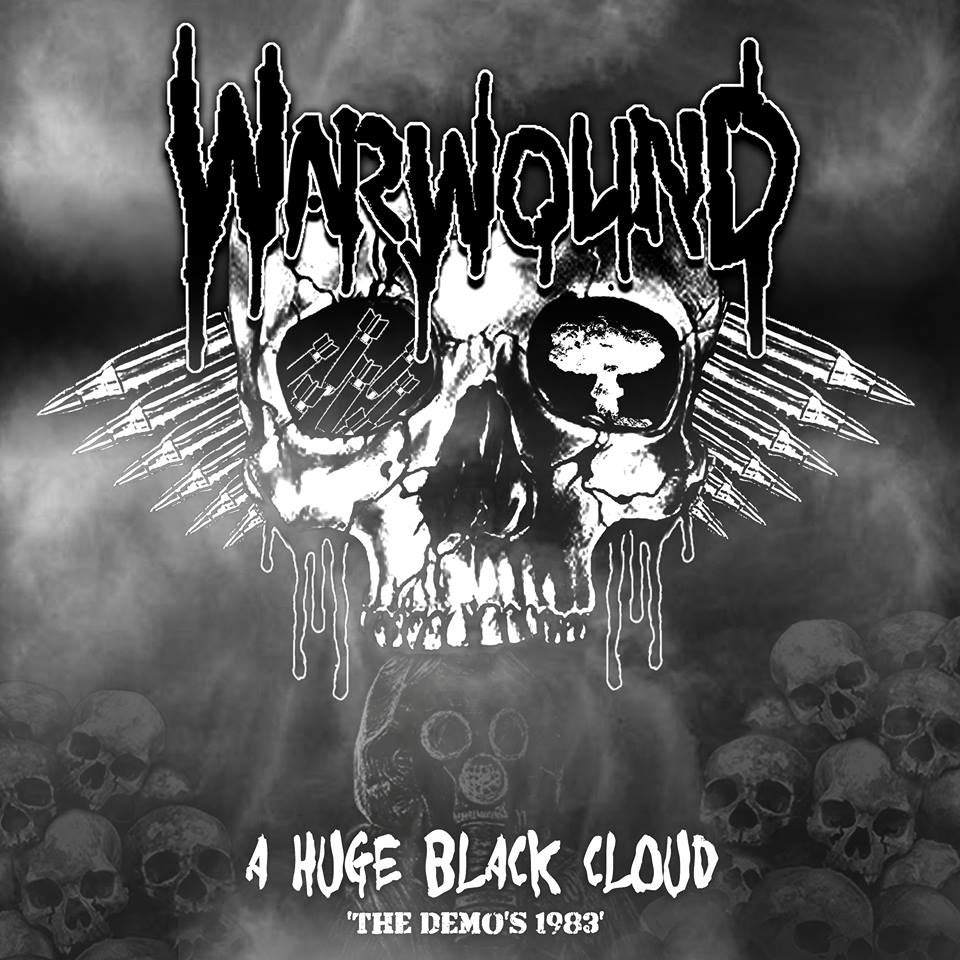Image of Warwound - A Huge Black Cloud - The Demos 1983 CD