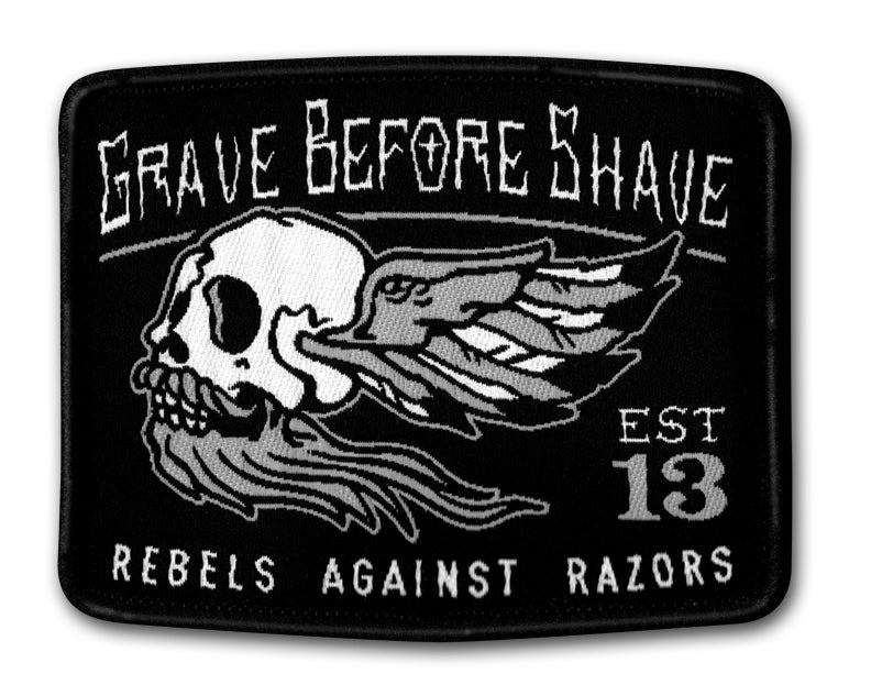Image of GBS Rebels Against Razors patch