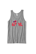Image of Bison Forever Tank (Men's Grey)