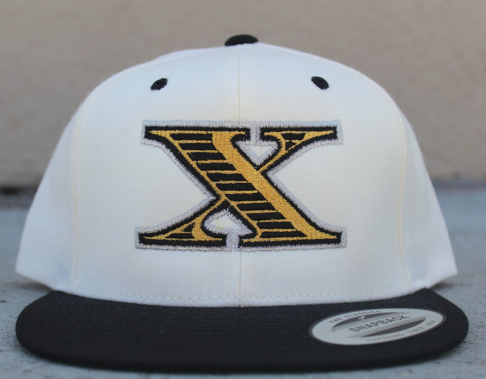 "Image of Xpensive Taste ""X"" Snap Back Hat"