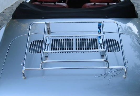 Image of VW GHIA DECK-LID – CHROME FRAME ONLY