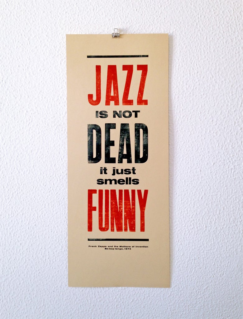 Image of Jazz is not dead