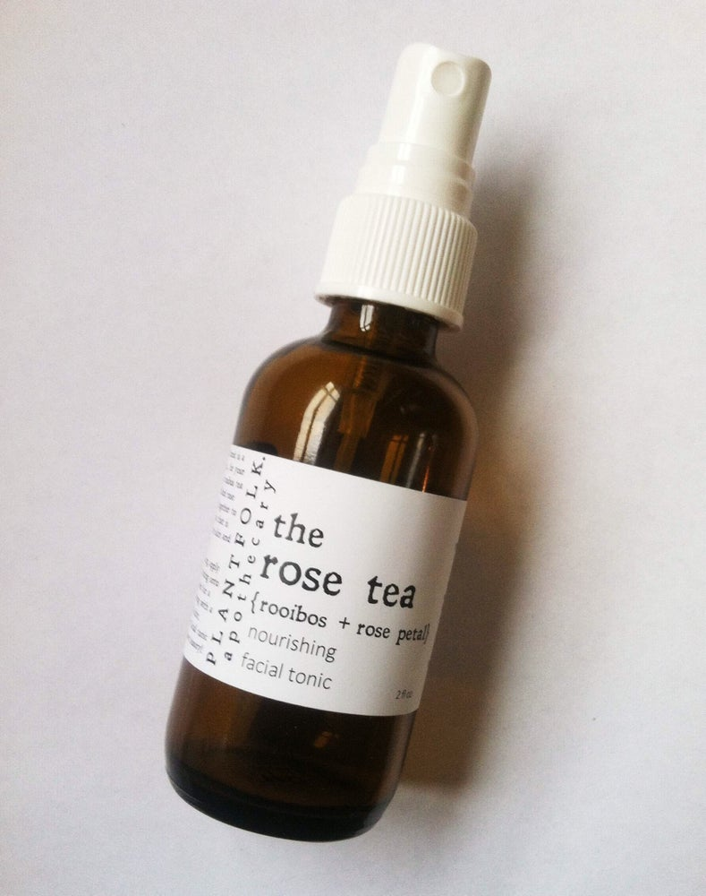 Image of the rose tea {rooibos + rose petal} nourishing facial tonic