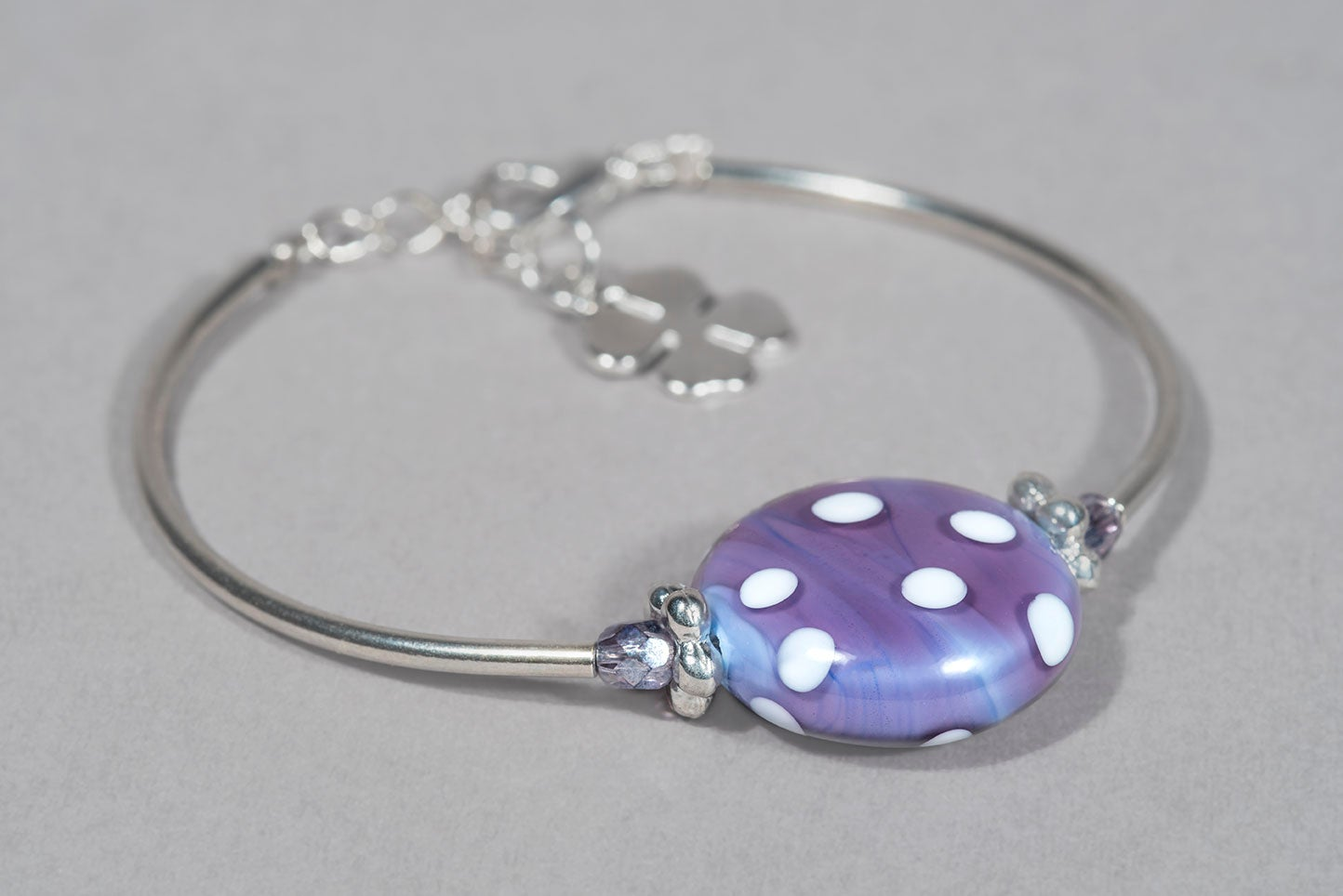 Image of BRACCIALE MINNIE in perle di vetro di Murano
