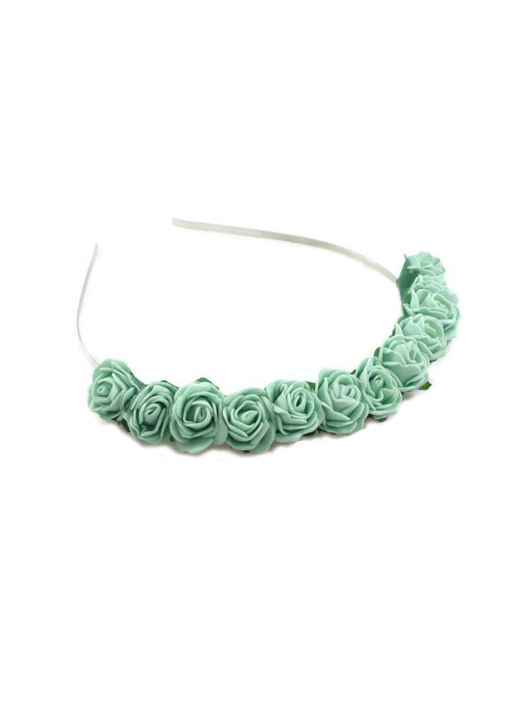 Image of Mini Rose Crown Mint Green