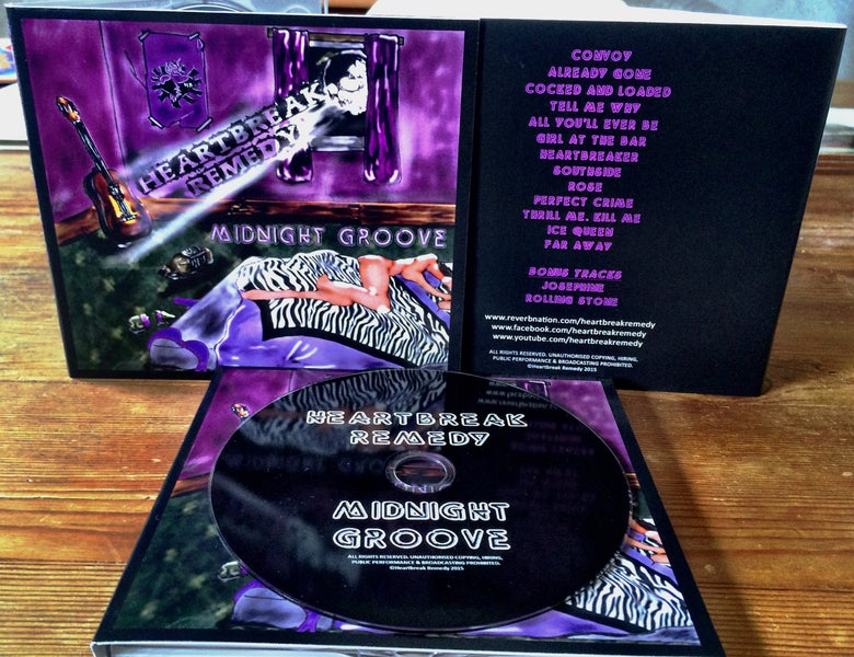 Image of Midnight Groove - Heartbreak Remedy - Debut Album