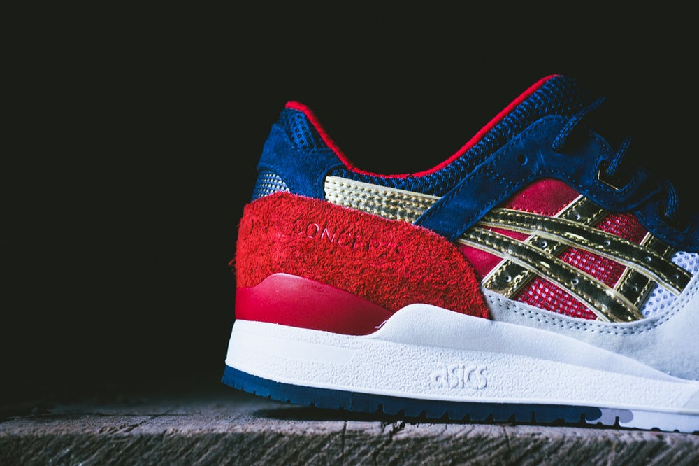 "Image of ASICS GEL LYTE 3 CONCEPTS ""BOSTON TEA PARTY"" H50TK 9394"